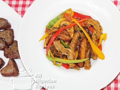 nigerian stirfry