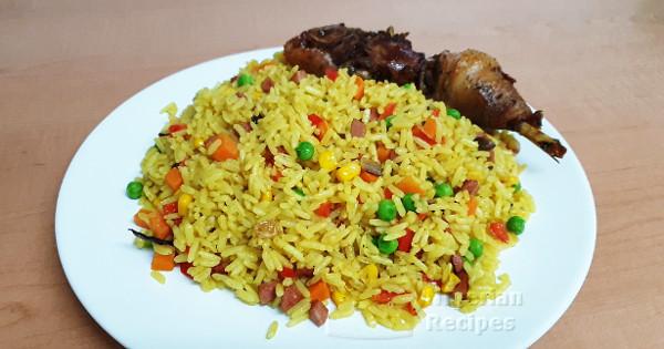 easy nigerian fried rice