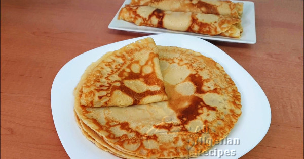 perfect nigerian pancakes