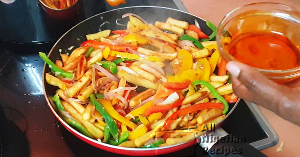 potato stirfry recipe