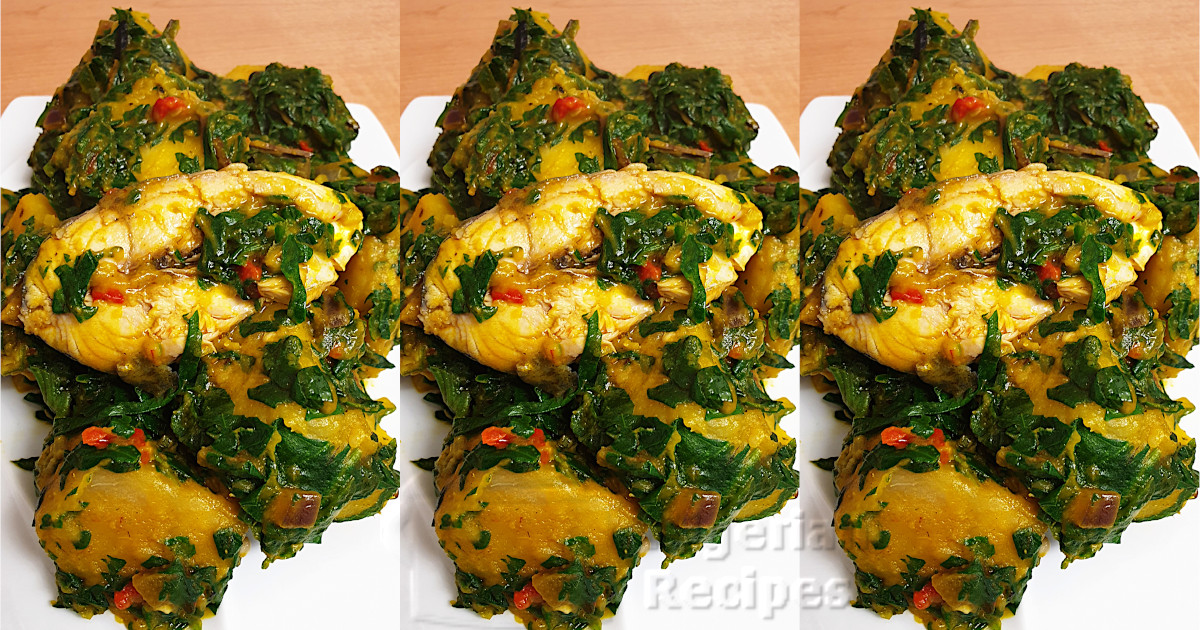 how to cook yam porridge with frozen yam