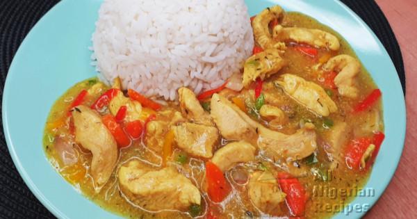 nigerian chicken sauce for weddings