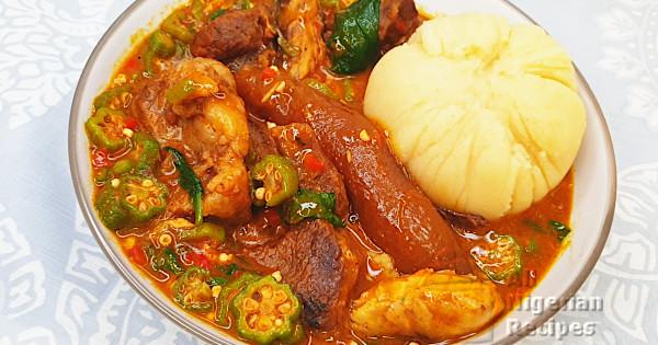ogbono and okra soup